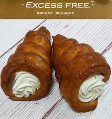 """Рожки с творожным кремом """"Excess free"""" 140г"""