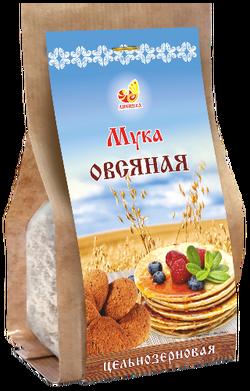 """Мука овсяная цельнозерновая """"Дивинка"""" 500г"""
