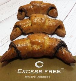 """Рогалики с маком """"Excess free"""" 120г"""