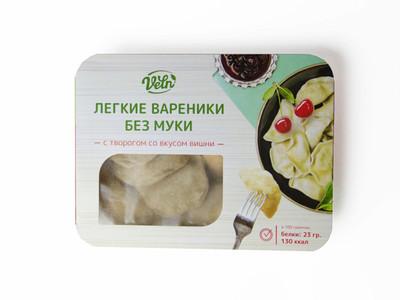 """Вареники с творогом со вкусом вишни «Велн» """"Fit&Sweet"""" 180г"""