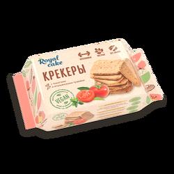"Крекеры ""С томатами и итальянскими травами"" без сахара протеина-18% ""Royal Cake"" 84г"