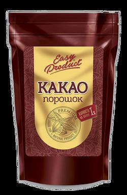 """Какао порошок обезжиренный 0-1%  (пакет) """"Easy Product"""" 100г"""