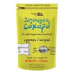 """Заменитель сахара """"1 ложка - 60 саше"""" """"Продуктовая Аптека"""" 60г"""