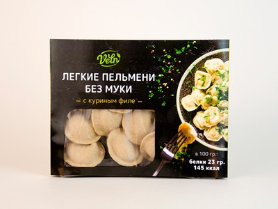 "Пельмени с курицей «Велн» ""Fit&Sweet"" 180г"