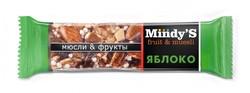 """Батончик """"Яблоко"""" """"Mindy S"""" 35г"""