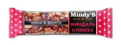 "Батончик ""Миндаль-Клюква"" ""Mindy S"" 35г"