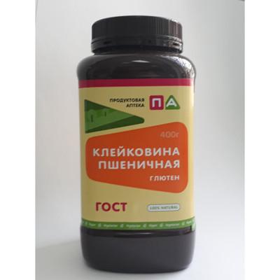 """Клейковина пшеничная (Глютен) """"Продуктовая Аптека"""" (Банка) 400г"""