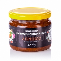 """Варенье без сахара """"Абрикос"""" Fito Forma 300 г"""