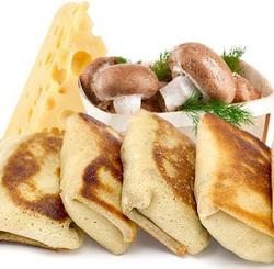 """Блинчики с грибами и сыром """"Неполнит"""" 400г"""
