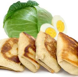 """Блинчики с капустой и яйцом """"Неполнит"""" 400г"""