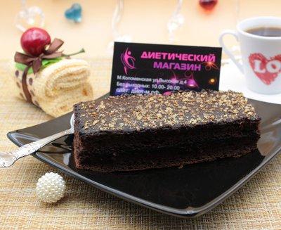 """Пирожное шоколадное """"Брауни"""" """"Fit&Sweet"""" 80г"""