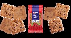 """Печенье овсяное """"Flap Jack"""" (Клюква) Протеиновое Без Сахара Протеина-15% """"Protein Rex"""" 60г"""