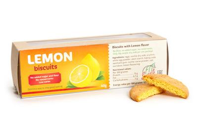 """Печенье со вкусом лимона """"Fit&Sweet"""" 40г"""