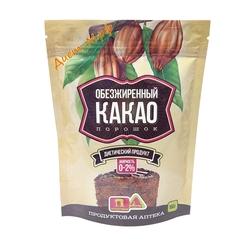 Какао порошок 0-2% жирность (пакет) 150г