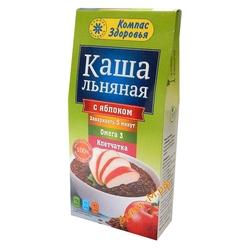 """Каша льняная ( с Яблоком ) """"Компас Здоровья"""" 250г"""