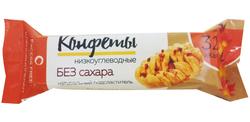 """Низкоуглеводные конфеты ( Кленовый пекан ) """"Excess Free"""" 55г"""