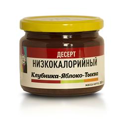 """Десерт Клубника-Яблоко-Тыква """"Мир Ягод"""" 300г"""