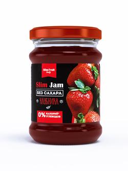 """Джем 0 углеводов ( Клубника ) """"Slim Jam"""" 250мл"""