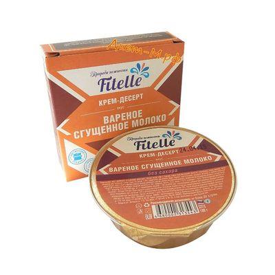 """Крем-Десерт ( Вареное Сгущенное Молоко ) """"Fitelle"""" 100г"""