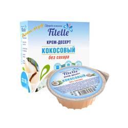 """Крем-Десерт (Кокосовый) """"Fitelle"""" 100г"""