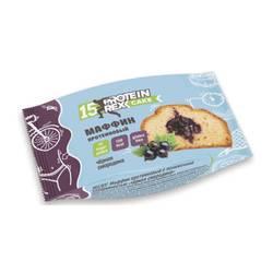 Маффин Протеиновый «ProteinRex» CAKE (15%) «Черная Смородина» 40г