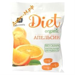 "Леденцы ( Апельсин ) ""Diet"" 50г"