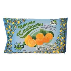 """Мармелад желейно-формовой со стевией со вкусом лимона """"Di&Di"""" 200г"""