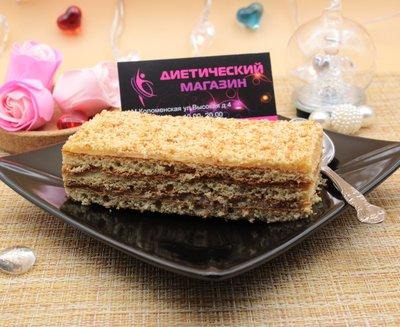 """Пирожное песочное с медовым вкусом """"Fit&Sweet"""" 100г"""