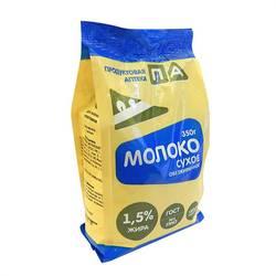 """Сухое обезжиренное молоко """"Продуктовая Аптека"""" (Пакет) 350г"""