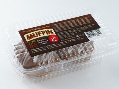 """Пирожное творожное Маффин с какао """"Fit&Sweet"""" 90г"""