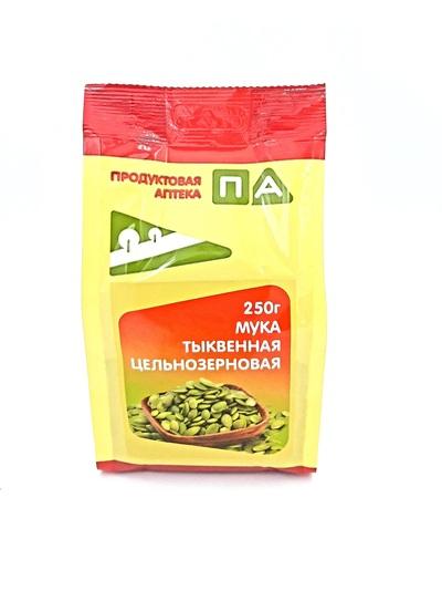 """Мука тыквенная цельнозерновая """"Продуктовая аптека"""" 250г"""