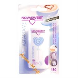 """Заменитель сахара ( Аспартам ) """"Novasweet"""" 150 табл"""