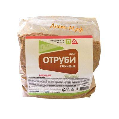 """Отруби Гречневые """"Продуктовая аптека"""" 300 г"""