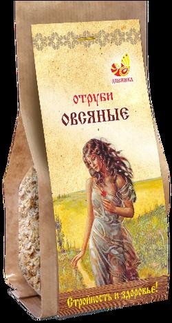 """Отруби овсяные """"Дивинка"""" (бумажный пакет) 400 гр"""