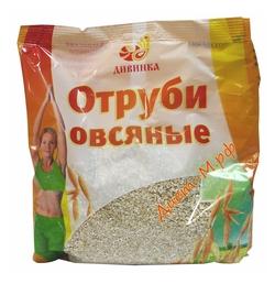 """Отруби овсяные """"Дивинка"""" 400 гр"""