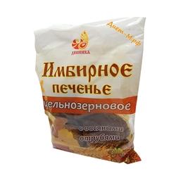 """Печенье цельнозерновое Имбирное на сахаре """"Дивинка"""" 300г"""
