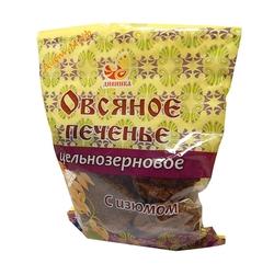 """Печенье цельнозерновое Овсяное с изюмом на сахаре """"Дивинка"""" 300г"""
