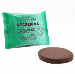 "Печенье Pechenka (Ореховое в шоколаде) ""Fito Forma"" 50г"