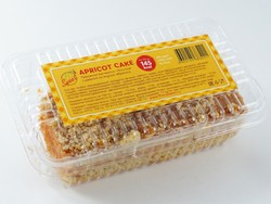 """Пирожное бисквитно-песочное с джемом со вкусом абрикоса """"Fit&Sweet"""" 100г"""