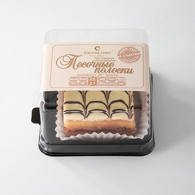 """Торт-пирожное """"Песочные полоски"""" """"Excess Free"""" 90г"""