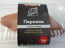 """Пирожок с Рыбой и Яйцом """"Fit & Sweet"""" 70г"""