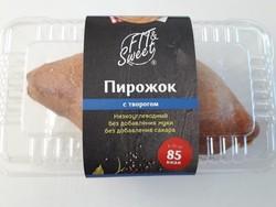 """Пирожок с Творогом """"Fit & Sweet"""" 70г"""