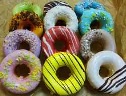 """Пончик (донатс) в протеиновой глазури в ассортименте """"Excess Free"""" 80г"""
