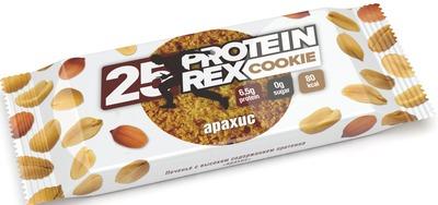 """Печенье """"Арахис"""" Без Сахара, Протеина-25% """"Protein Rex"""" 50г"""