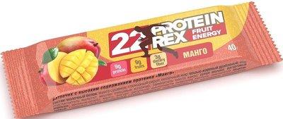 Протеиновый батончик «ProteinRex» Fruit Energy (20%) «Манго» 40г