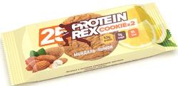 "Печенье ""Миндаль-Лимон"" Без Сахара, Протеина-25% ""Protein Rex"" 50г"