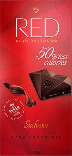 """Шоколад темный """"Red Delight"""" 100г"""