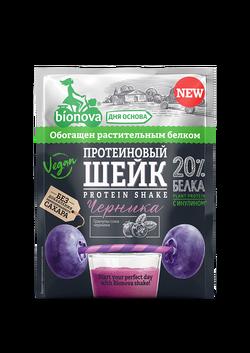 """Протеиновый Шейк Черника """"Bionova"""" 25г"""