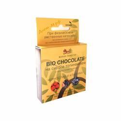 "Шоколад Bio (Чернослив и Клубника) ""Sweete Bean"" 45г"