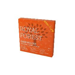 "Шоколад ""Кэроб, апельсин, имбирь и корица"" ""Royal Forest"" 75г"
